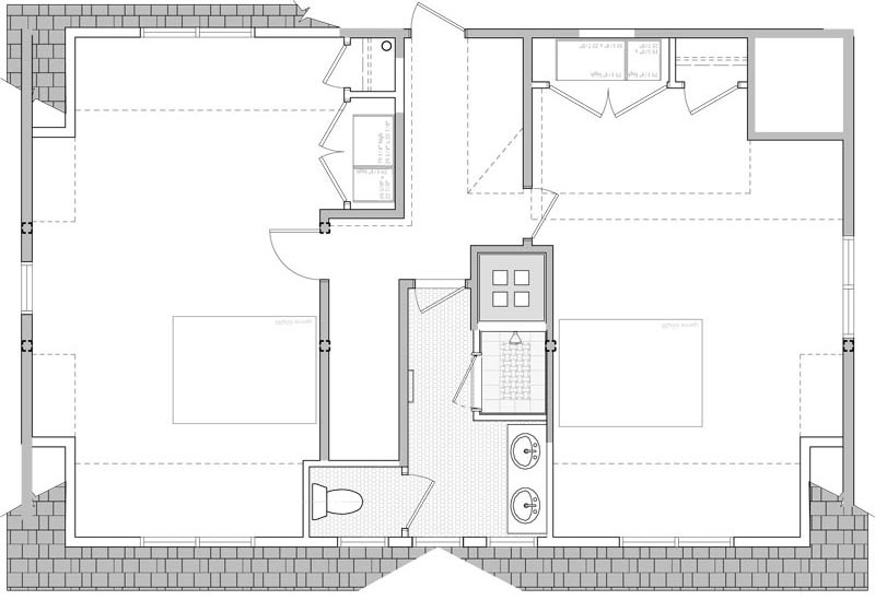 floor plan cleaned-up (dimensions, notes and tags removed)