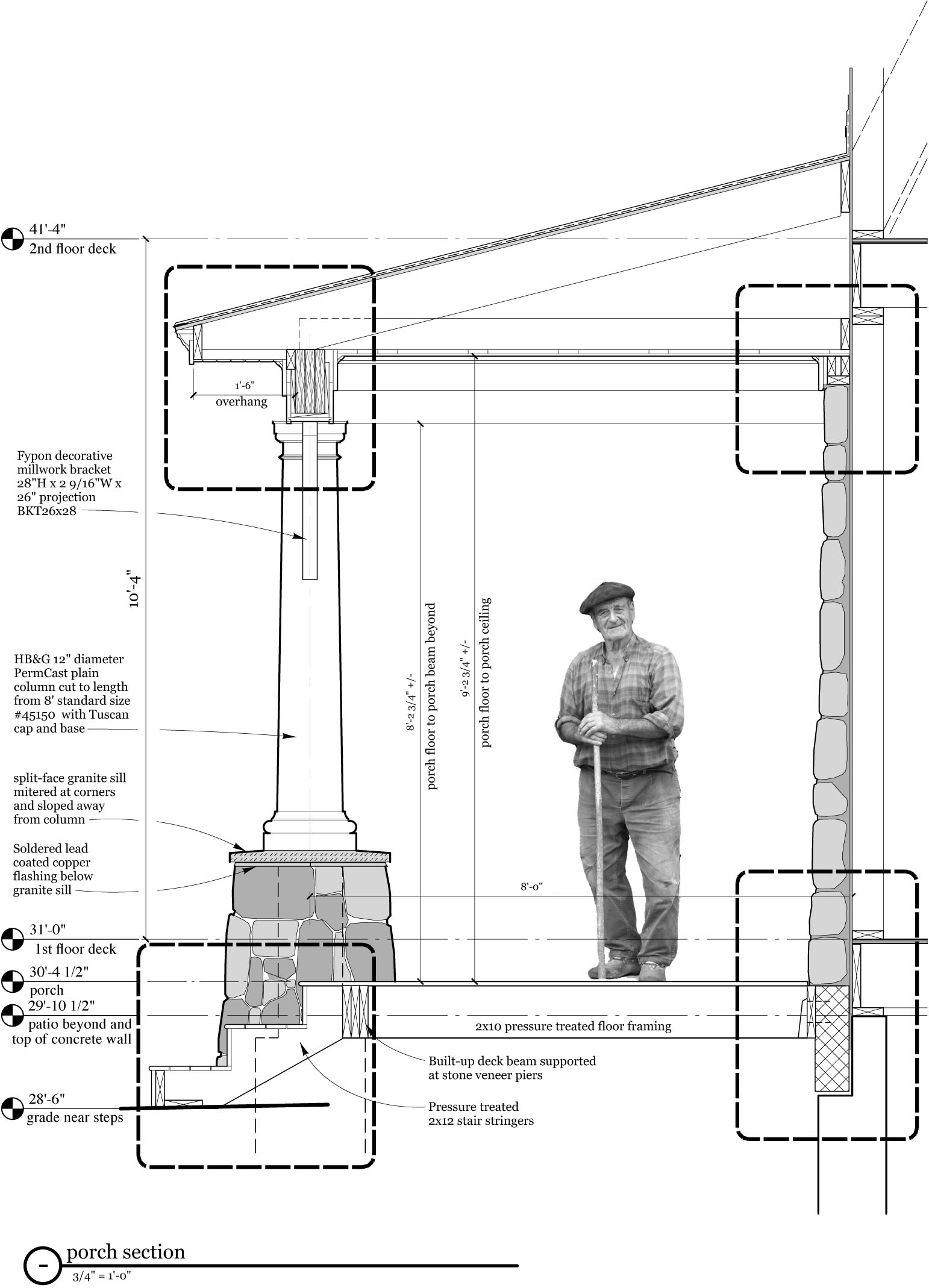 on millwork design drawings