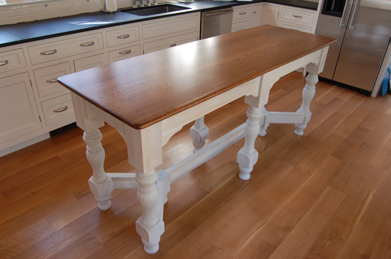 Island Bench Kitchen Table Afreakatheart