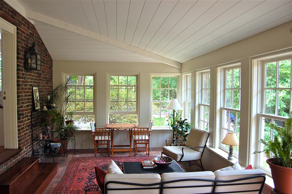 Blog archive sunroom for Sunroom interior walls
