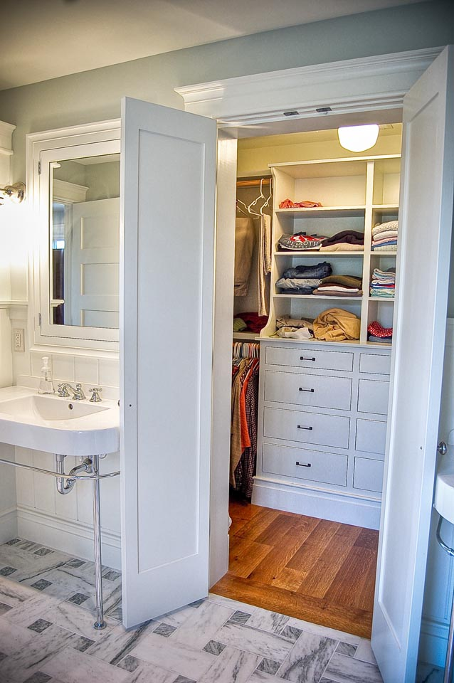 Master bathroom closet design ideas specs price for Bathroom closet remodel