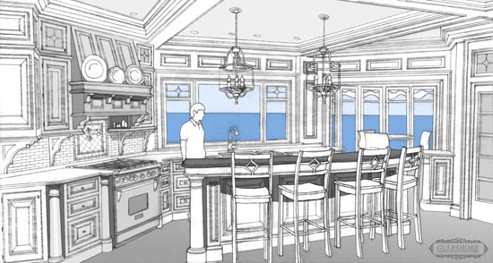 New Kitchen Drawing