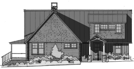 entry elevation 2